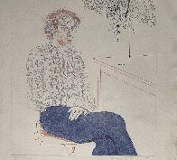 Gregory 1974 Limited Edition Print by David Hockney - 4