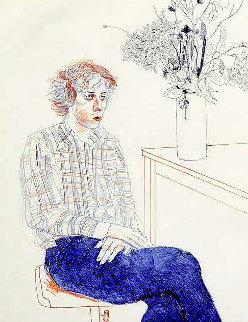 Gregory 1974 Limited Edition Print - David Hockney