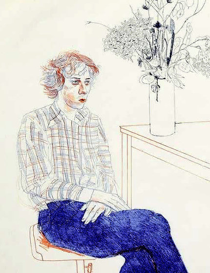 Gregory 1974 Limited Edition Print by David Hockney