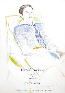Dessins Et Gravures Poster 1975 Limited Edition Print - David Hockney