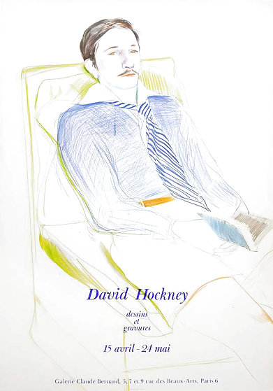 Dessins Et Gravures Poster 1975 Limited Edition Print by David Hockney