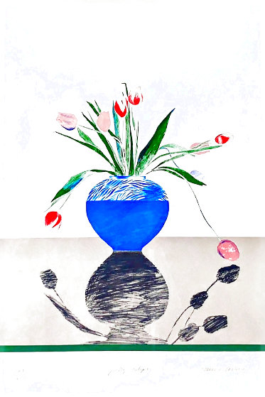Pretty Tulips 1970 Limited Edition Print by David Hockney
