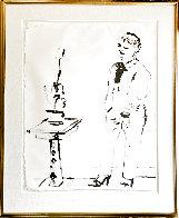 Celia Amused 1979 Hand Signed Limited Edition Print by David Hockney - 1