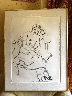 Celia Inquiring 1979 Hand Signed Limited Edition Print by David Hockney - 1