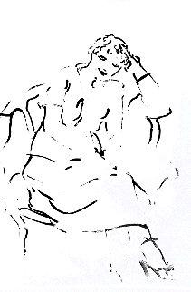 Celia Inquiring 1979 Limited Edition Print - David Hockney