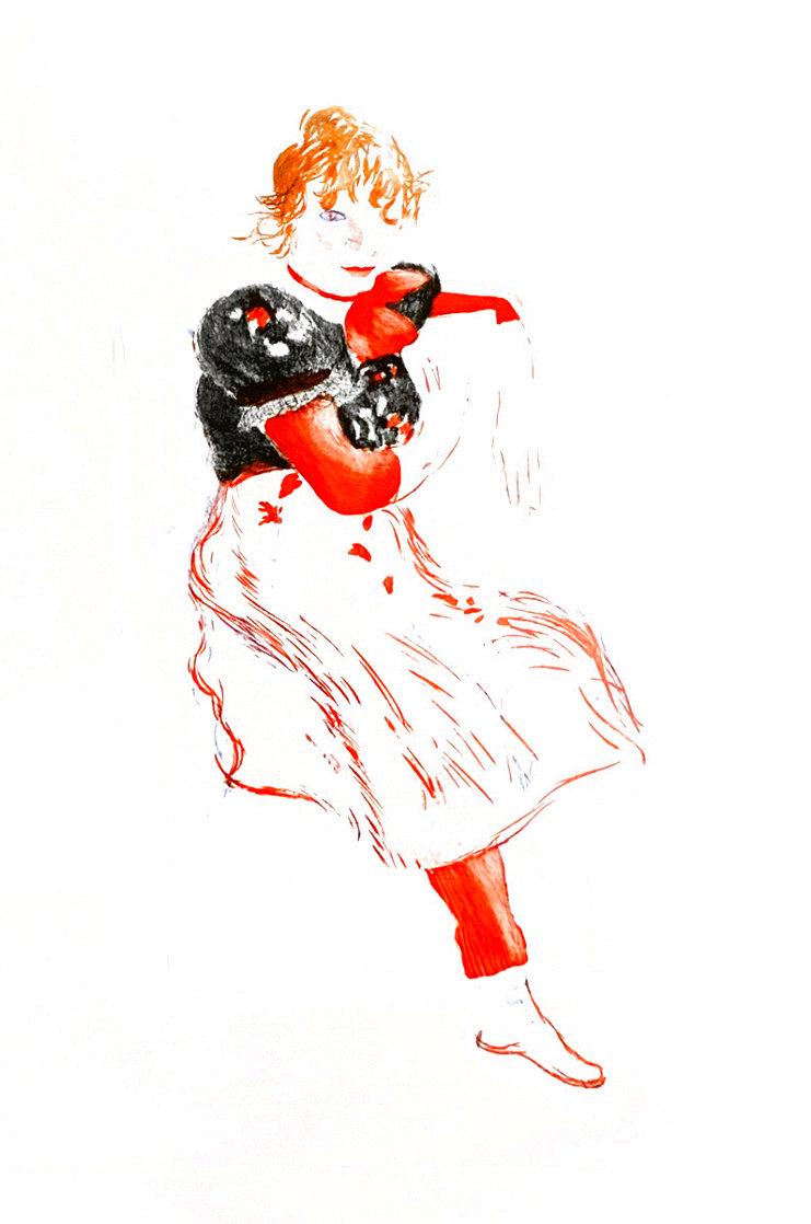 Celia Observing 1976 Limited Edition Print by David Hockney
