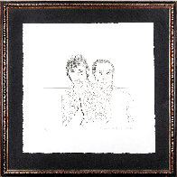 Ossie And Mo 1988 Limited Edition Print by David Hockney - 1