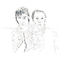 Ossie And Mo 1988 Limited Edition Print by David Hockney - 0