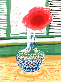 My Window  2010 HS Limited Edition Print - David Hockney