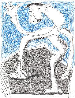 Waving, April  1986 HS Limited Edition Print - David Hockney