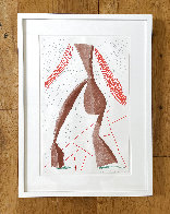 Walking 1986 HS Limited Edition Print by David Hockney - 1