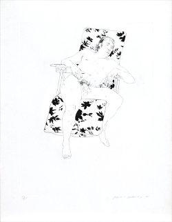 Mo Asleep AP 1971 Limited Edition Print - David Hockney