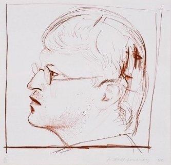Self Portrait  Limited Edition Print - David Hockney