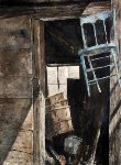 Bull Ring Watercolor 2012 30x22 Watercolor - Stephen Hodecker