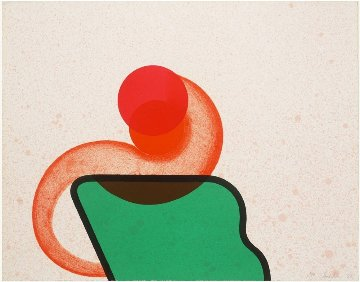Bedroom 1968 Limited Edition Print - Howard Hodgkin