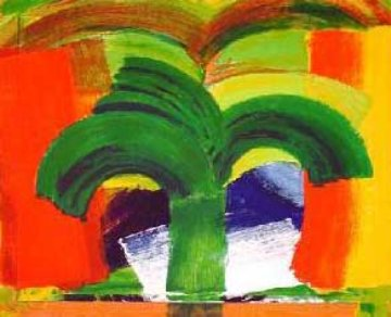 In Tangier 1991 Limited Edition Print - Howard Hodgkin