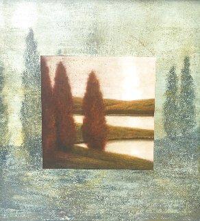 Limen 1999 45x45 Huge Original Painting - Wade Hoefer