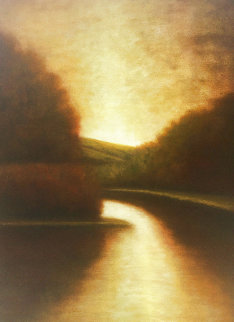 Mutato I 1999 48x36 Huge Original Painting - Wade Hoefer