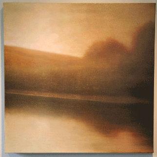 Nubila 2006 24x24 Original Painting - Wade Hoefer