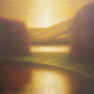 Laurus 48x48 Original Painting - Wade Hoefer