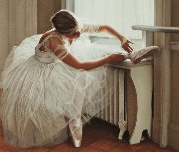 Ballerina Limited Edition Print - Douglas Hofmann