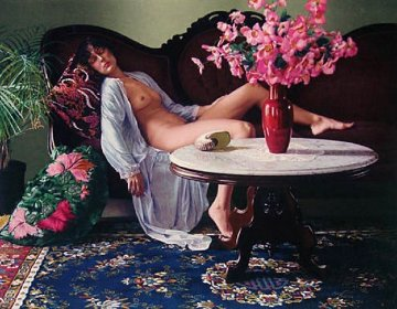 Jessica AP 1983 Limited Edition Print by Douglas Hofmann