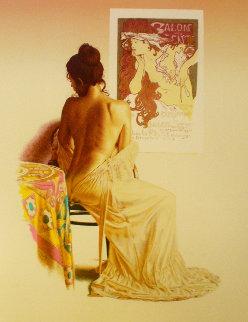 Salon Des Cent (State I) 1980 Limited Edition Print - Douglas Hofmann