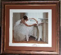 Ballerina 1995  with Remarque Limited Edition Print by Douglas Hofmann - 1