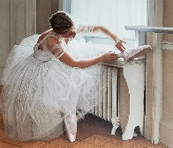 Ballerina 1995  with Remarque Limited Edition Print by Douglas Hofmann - 0