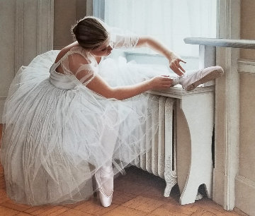 Ballerina 1995  with Remarque Limited Edition Print by Douglas Hofmann