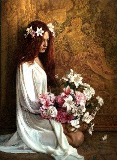Grace 42x35 Original Painting - Douglas Hofmann