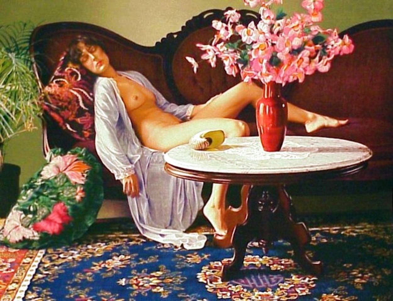 Jessica 1983 Huge Limited Edition Print by Douglas Hofmann