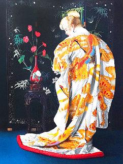 Japanese Kimono PP 1990 Limited Edition Print - Douglas Hofmann