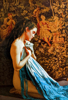 Shawl and Tapestry 1988 Limited Edition Print - Douglas Hofmann