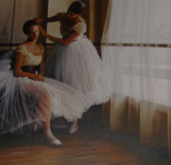 Before the Ballet Limited Edition Print - Douglas Hofmann