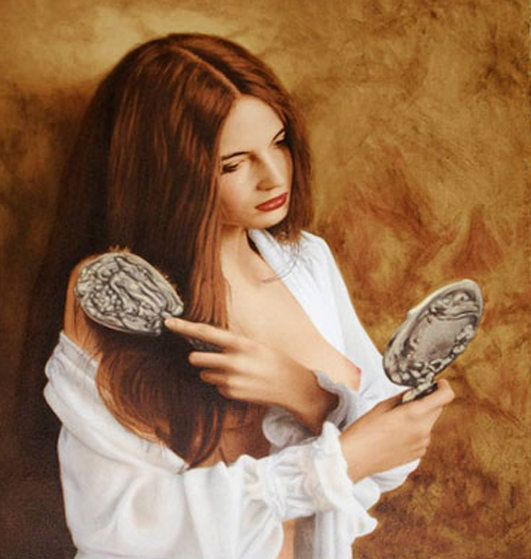 Mirror 2006 Limited Edition Print by Douglas Hofmann