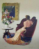 Lady of Shallot 1988 Limited Edition Print by Douglas Hofmann - 0