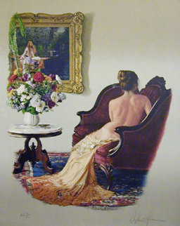 Lady of Shallot 1988 Limited Edition Print by Douglas Hofmann