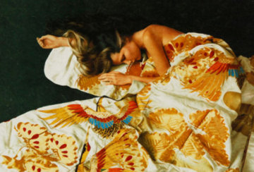 Gold And Silk 1993 Limited Edition Print by Douglas Hofmann