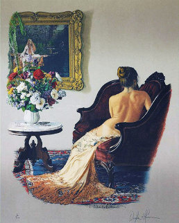 Lady of Shalott 1988 Limited Edition Print by Douglas Hofmann