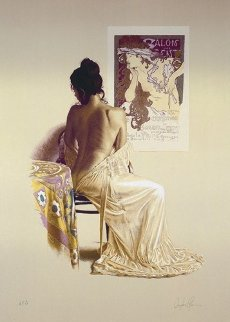 Salon Des Cent 1980 Limited Edition Print - Douglas Hofmann