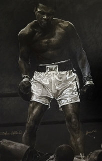 Muhammed Ali - The Greatest HS by Ali Limited Edition Print by Stephen Holland