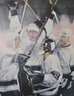 Celebration 1993 Gretsky Limited Edition Print by Stephen Holland
