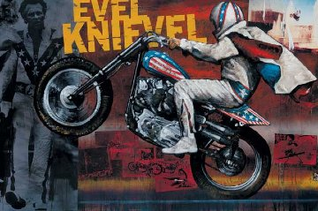 Evel Knievel 2007 Limited Edition Print by Stephen Holland