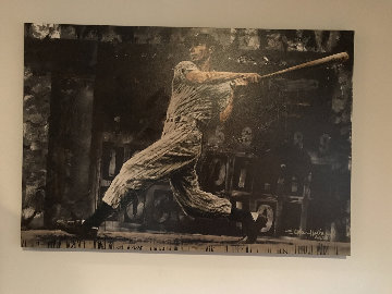 Joe Dimaggio  2005 Limited Edition Print by Stephen Holland