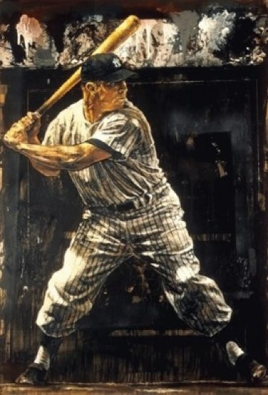 Mickey Mantle AP 2004 Limited Edition Print by Stephen Holland
