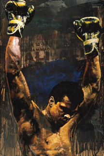 Ali Triumph HS by Ali Limited Edition Print - Stephen Holland