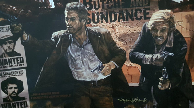 Butch And Sundance 2011 by Stephen Holland