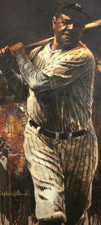 Babe Ruth AP  2004   Embellished - Super Huge Limited Edition Print - Stephen Holland