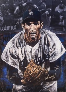 Sandy Koufax 2007 Embellished Limited Edition Print - Stephen Holland